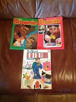 Collection Of Brownie & Girl Guide Annuals