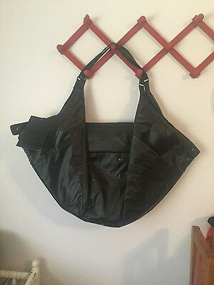 New Women's Black NIKE Victory Gym Tote Bag w/ Accessory Bags