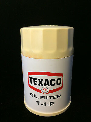 VINTAGE- Texaco Oil Filter Radio T-1-F - Works Great, Made in Hong Kong