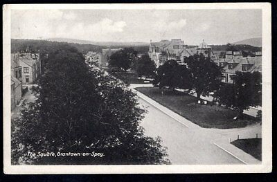 Grantown-On-Spey, The Square, Moray. Used. 1917.