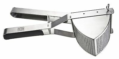 TAYLORS EYE WITNESS Stainless Steel Professional Potato Ricer with Soft Grip ...