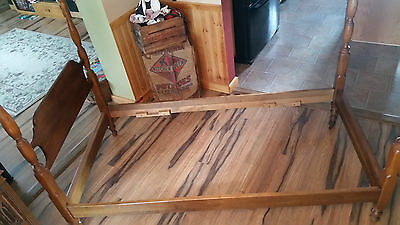 Antique Stickley Twin Bed