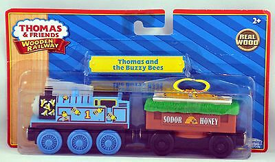 Thomas & Friends Wooden Railway Thomas And The Buzzy Bees NIP