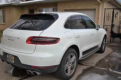 2015 Porsche Macan S Sport Utility 4-Door Rear view camera, Bose, Running Boards, Low Miles, 6 Cylinder , Turbo, H/C seats
