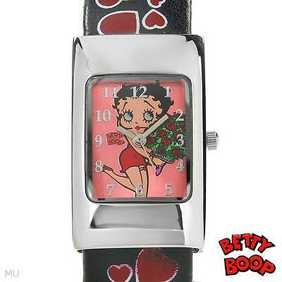 Betty Boop Watch w/ a bracelet type wrist band, Brand New:
