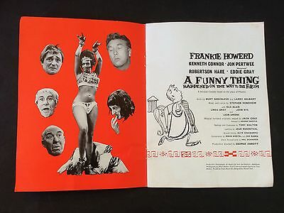 A FUNNY THING HAPPENED ON THE WAY TO  FORUM-Frankie Howard Jon Pertwee