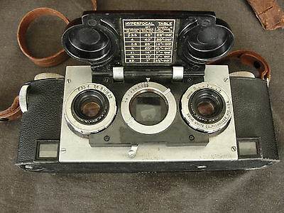 Vintage David White Stereo Realist 3d Stereoscopic Camera