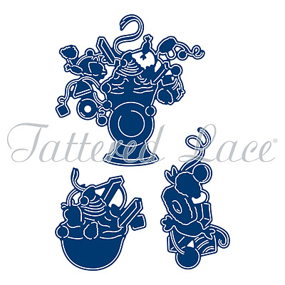 Essentials by Tattered Lace - Retro Weighing Scales  (ETL478)