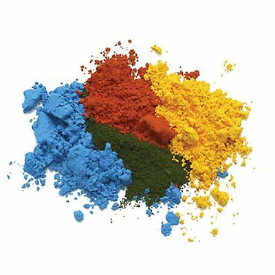 50g | CONCENTRATED RED, YELLOW, GREEN & ORANGE FOOD CAKE COLOUR COLOURING POWDER