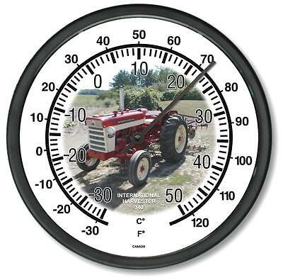 "New International Harvester 1958-1963 Model 340 10"" Tractor Wall Thermometer New"