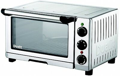 Table Top Convection Mini Oven and Grill Compact Stainless Steel Kitchen Home