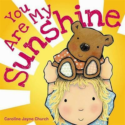 NEW You Are My Sunshine By J Davis Board Book Free Shipping