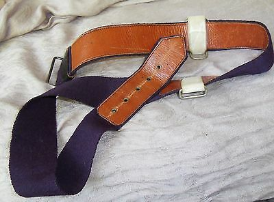 Vintage Quality Under Tunic Sword Belt Adjusts To 40 Inch Waist.