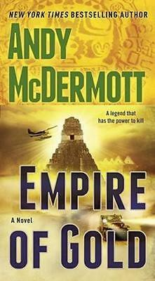 NEW Empire of Gold By Andy McDermott Paperback Free Shipping
