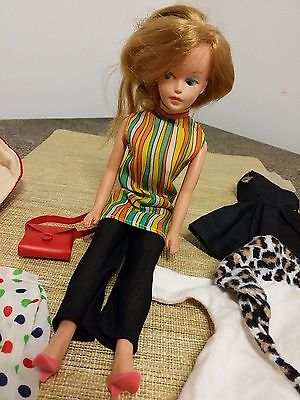 Vintage American Character Tressy Doll And Clothing
