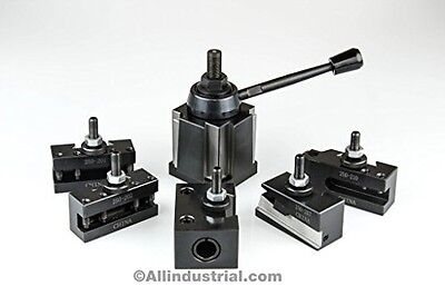 All Industrial Tool Supply BXA Wedge Tool Post Set CNC High Precision Quick