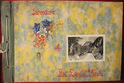 Hand Made Souvenir Photo Album Of The Eagle's Nest, Berchtesgaden, Germany, 1948