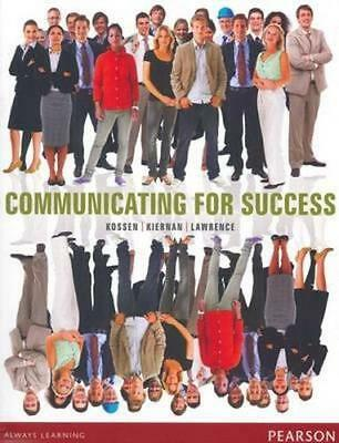 NEW Communicating for Success By Chris Kossen Paperback Free Shipping