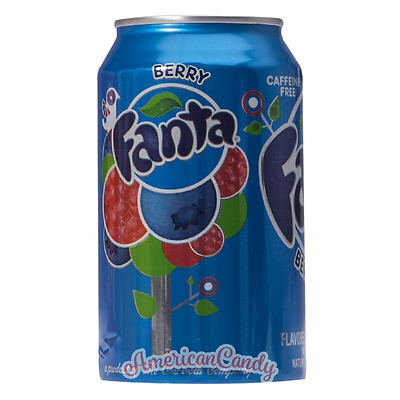 Beerenmix-Fanta:  12x 355ml Fanta Berry USA Import Softdrink (4,22€/l)