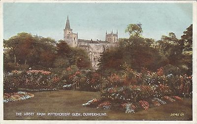 The Abbey From Pittencrieff Glen, DUNFERMLINE, Fife