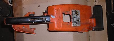 Vintage 031 Stihl chainsaw top housing with safety brake handle