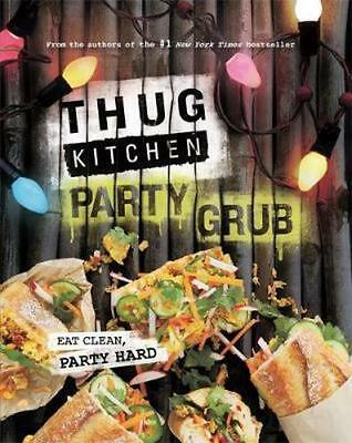 NEW Thug Kitchen By Thug Kitchen Hardcover Free Shipping