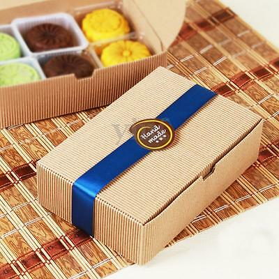 5-50pcs Kraft Paper Cake Cupcake Box Cookie Pastry Package Wedding Party Favour