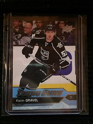 2016-17 UD Upper Deck Series 2 KEVIN GRAVEL Young Guns #474! C