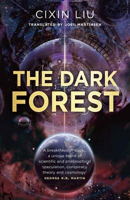 NEW The Dark Forest By Cixin Liu Paperback Free Shipping