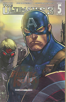 The Ultimates 3 #5 Variant & Standard Covers (Captain America) CGC Ready