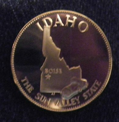 Idaho  Great State Proof  Bronze Medal  Franklin Mint