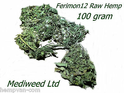 100 grm Hand picked organic Hemp Flower Buds ideal for DIY oil tinctures and tea