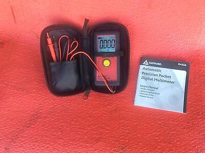 AMPROBE PM55A Digital Volt Ohm Meter With Non Contact Voltage Detection