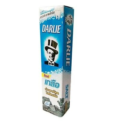 DARLIE SALT BAMBOO CHARCOAL WHITENING CLEAN FLUORIDE TOOTHPASTE NATURAL 35g