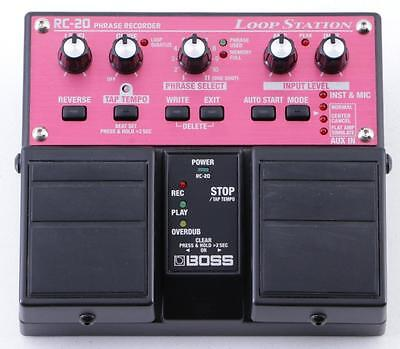 Boss RC-20 Loop Station Looper Guitar Effects Pedal PD-3241