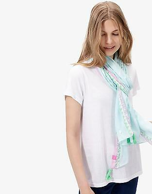 Joules Carnival Long Line Scarf in Spot in One Size