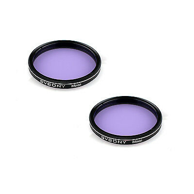 "2X SVBONY Astronomy Telescope Eyepiece 2"" Moon Filter for Observation of Moon"