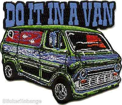 Do It In A Van Embroidered Patch Dirty Donny Iron On Patch