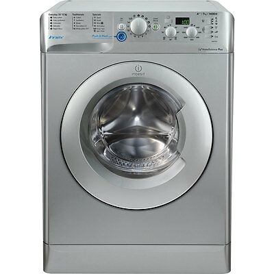 Indesit BWD71453SUK Innex A+++ 7Kg 1400 Spin Washing Machine Silver New from AO