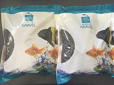 Aquarium Gravel Black - 1kg x 2