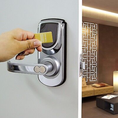 Keyless deadbolt door lock touchscreen keypad electronic digital entry lock set