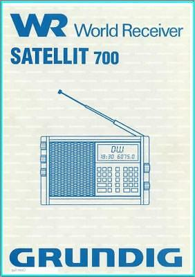 Grundig Satellit 700 Shortwave  User Manual