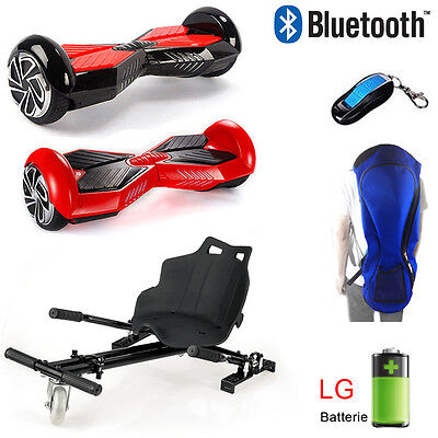 Bluetooth Hoverboard + Karting Scooter électrique Self Balance Board Nouveau