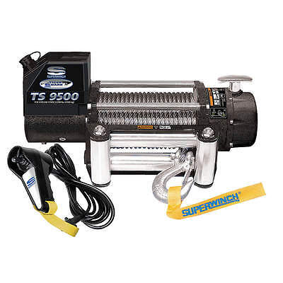 SUPERWINCH Electric Winch, 5-1/5HP, 12VDC 1595200