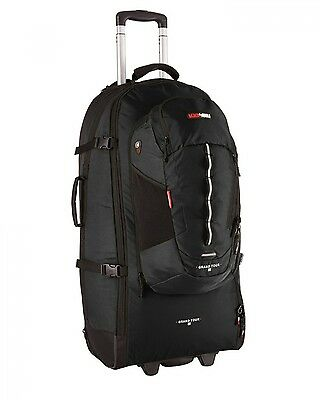 NEW Blackwolf Grand Tour  65L Wheeled Backpack Black - in BLACK - 65L
