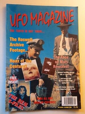 1995 UFO Magazine Vintage THE TRUTH IS OUT THERE Roswell X-Files Cover-up