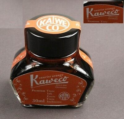 Kaweco Tintenglas Tinte in sunrise orange 30ml neu  #