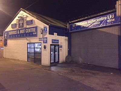 mot test station and repair business for sale in wakefield
