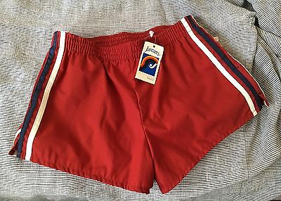 "Vtg JANTZEN"" SWIM TRUNKS Retro BATHING SUIT SHORTS USA MENS (28/29"" New"