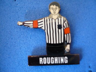 Ice Hockey Referee Badge . Roughing .